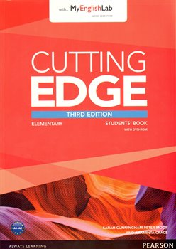 Cutting Edge 3rd Edition Elementary Students Book and MyLab Pack - Sarah Cunningham, Peter Moor, Araminta Crace