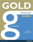 Gold Advanced Coursebook with online audio (2015 Exams Edition) - obálka
