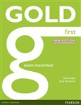 Gold First Exam Maximiser with online audio (without key) - obálka