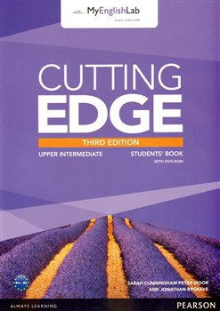 Cutting Edge 3rd Edition Upper Intermediate Students' Book with DVD and MyEnglishLab