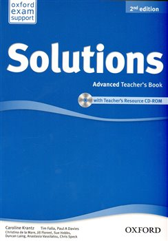 Maturita Solutions 2nd Edition Advanced Teacher´s Book with Teacher´s Resource CD-ROM - kol.