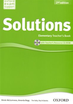 Maturita Solutions 2nd Edition Elementary Teacher´s Book with Teacher´s Resource CD-ROM - R. McGuinness, Amanda Begg, Paul Davies, Tim Falla