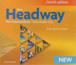 NEW HEADWAY FOURTH EDITION PRE-INTERMEDIATE CLASS AUDIO CDs