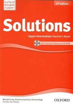 Maturita Solutions 2nd Edition Upper Intermediate Teacher´s Book with Teacher´s Resource CD-ROM - kol.