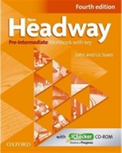 New Headway Fourth Edition Pre-intermediate Workbook with Key and iChecker CD-ROM - Liz Soars, John Soars