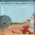 Rodinný kalendář 2015 - s příběhem jednoho parku a jedné lavičky - obálka