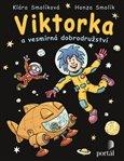 Viktorka a vesmírná dobrodružství - obálka