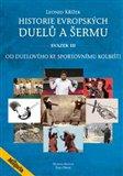 Historie evropských duelů a šermu - obálka