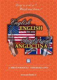 DVD-Angličtina pro tebe: 2. mírně pokročilí