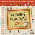 Rodinný plánovač 2015 - obálka