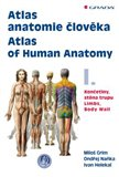 Atlas anatomie člověka I. - obálka