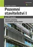 Pozemní stavitelství I pro SPŠ stavební - obálka