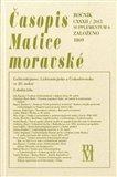 Časopis Matice moravské supplementum 6/2013 - obálka