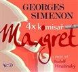 4x komisař Maigret - obálka