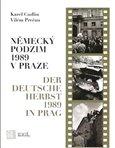 Německý podzim 1989 v Praze - obálka