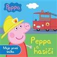 Prasátko Peppa a hasiči - Moje první knížka - obálka