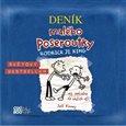 Deník malého poseroutky 2 - audio CD - obálka