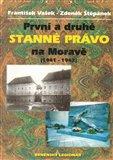 První a druhé stanné právo na Moravě ((1941-1942)) - obálka