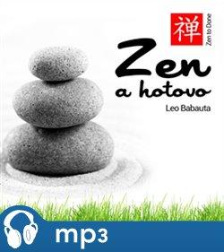 Zen a hotovo, mp3 - Leo Babauta