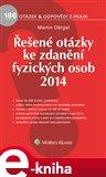 Řešené otázky ke zdanění fyzických osob 2014 - obálka