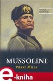Mussolini - obálka
