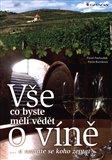 Vše, co byste měli vědět o víně.... (...a nemáte se koho zeptat) - obálka