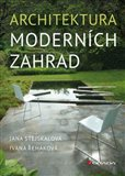 Architektura moderních zahrad - obálka