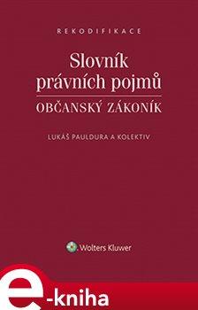 Obálka titulu Slovník právních pojmů