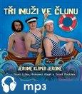 Tři muži ve člunu - obálka