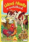 Lidová říkadla o zvířátkách - obálka