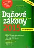 Daňové zákony 2015 (s komentářem změn) - obálka