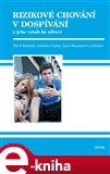 Rizikové chování v dospívání - obálka