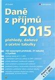 Daně z příjmů 2015 - obálka