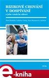Rizikové chování v dospívání (Elektronická kniha) - obálka