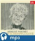 Herecký portrét Olgy Scheinpflugové - obálka