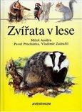 Zvířata v lese - obálka