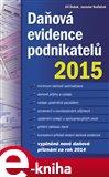 Daňová evidence podnikatelů 2015 - obálka