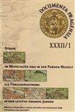 Documenta Pragensia 32/1 (Města ve středověku a raném novověku jako badatelské téma) - obálka