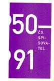 50-91 Čs. spisovatel - obálka