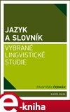 Jazyk a slovník - obálka