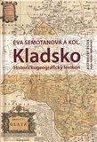 Kladsko. Historickogeografický lexikon - obálka