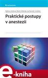 Praktické postupy v anestezii - obálka