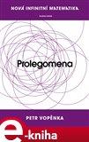 Prolegomena k nové infinitní matematice - obálka