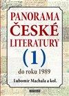 Obálka knihy Panorama české literatury - 1. díl