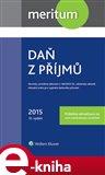 Meritum Daň z příjmů 2015 - obálka