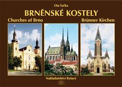 Obálka titulu Brněnské kostely