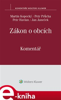 Obálka titulu Zákon o obcích (č. 128/2000 Sb.) Komentář