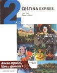 Čeština expres 2(A1/2) - španělsky + CD - obálka
