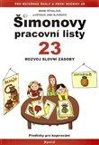 Šimonovy pracovní listy 23 (Rozvoj slovní zásoby) - obálka
