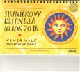 Sluníčkový kalendář 2016 - stolní - obálka